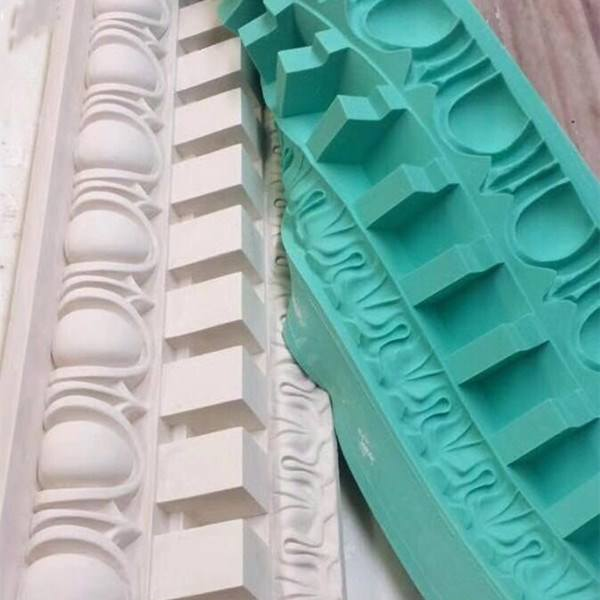 Flexible Silicone Rubber Molds For Making Cornice