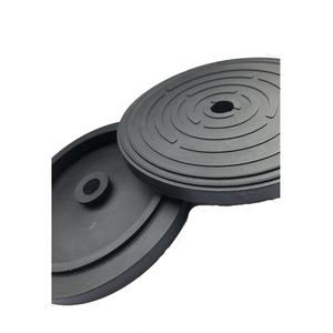 Rubber disc base hard rubber pads natural rubber sheet