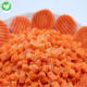 China supplier export food grade buyers price iqf cut vegetables deep frozen diced carrots