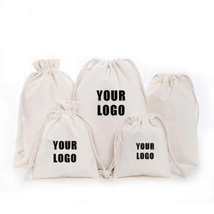 Original factory cheap drawstring cotton bags custom promotional hot sale organic cotton drawstring bag