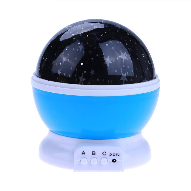 Starry Sky Laser Projector LED Nebula Night Light Ocean Light LED Lamp Colorful Flashing Star Kids Baby Christmas Gift
