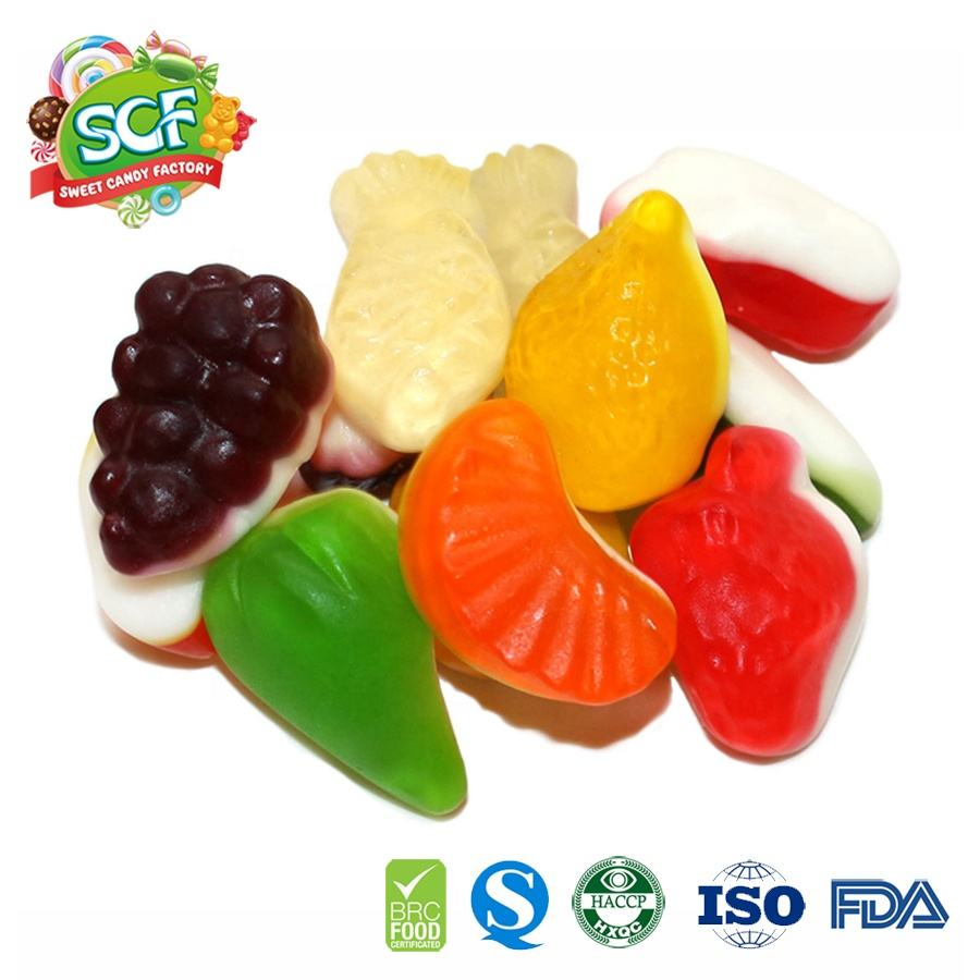 halal sweet and delicious jelly gummy candy