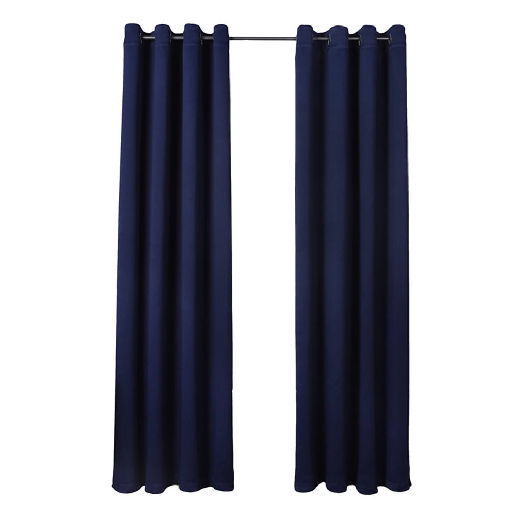 Solid Colors Curtain Fabric Black Out Textile Materials For Living Room Windows Treatment Luxury Ready Made Curtain