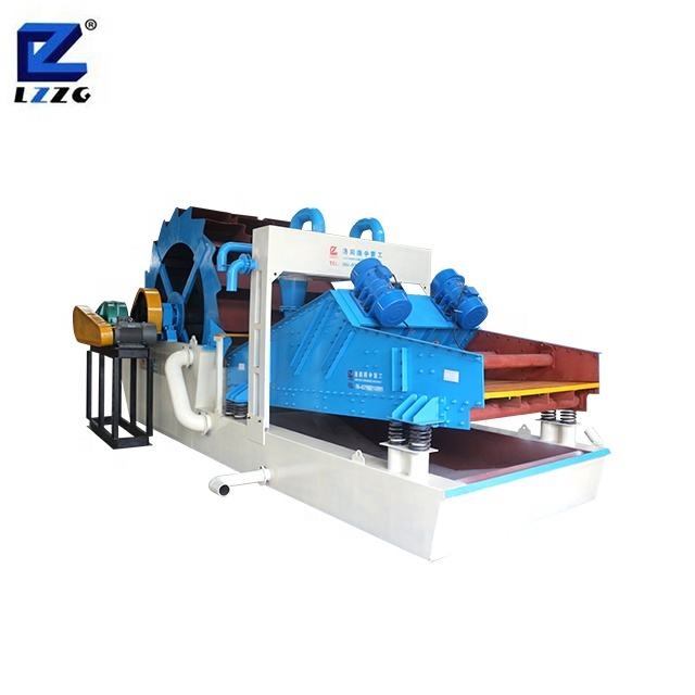 High capacity aggregate gravels screening washing machine for sand making line