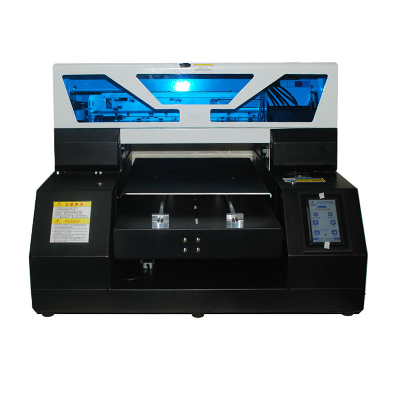 Flatbed Printer Inkjet Printing Machine A4 UV Printer for precise printing on Metal