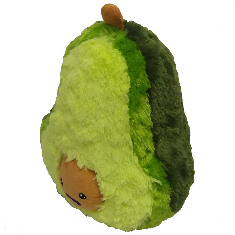 2020 Hot sale plush toy Avocado stuffed soft toy pillow kawaii plush avocado cute fruit plush toys