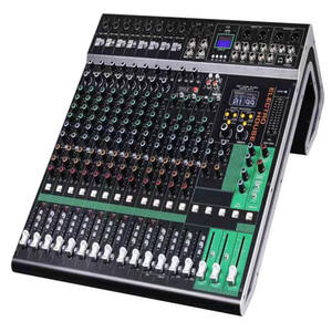 Mixer Amplifier Audio, Mixer Daya 24 Saluran Dj Profesional Audio Digit Amplifier Audio