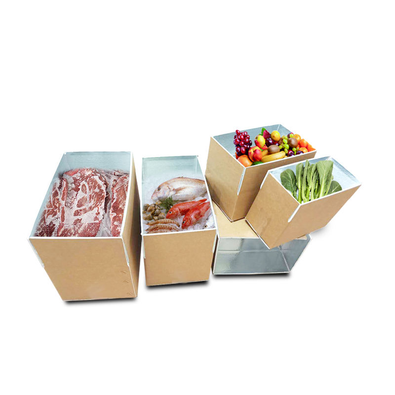 Used For Fresh Fruit Cherries Frozen Meat Fish Food Cold Chain Warehouse Storage Packaging Carton Box Can Be Printed Logo