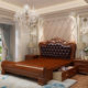 Bedroom Furniture Storage Luxury Antique King Size Frame Double Wood Beds
