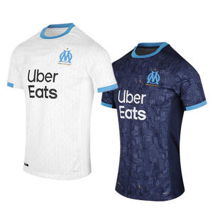 2020 2021 new Marseille home and away third football jersey Thailand quality customizable football jersey