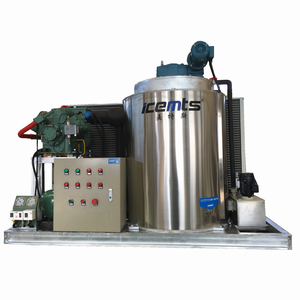 Made in Shandong Flake Ice Making Machine for Food Processing