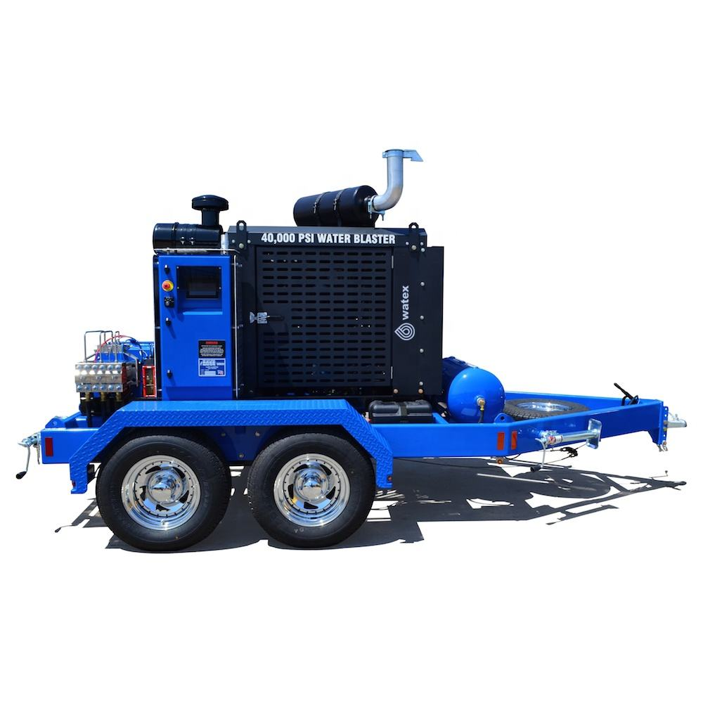1000bar water jet drain pipe sewer cleaning machine high pressure cleaner hydroblasting equipment for sale hydro jetting clean