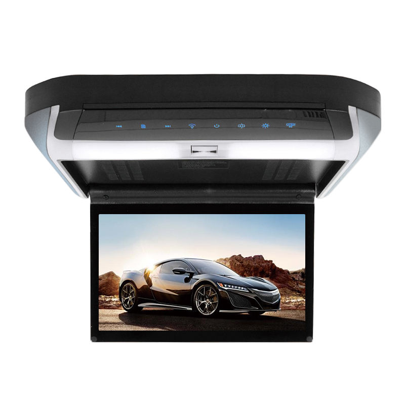 10 Inch Car <span class=keywords><strong>DVD</strong></span> mit USB SD MP5 IR FM Transmitter Wireless spiele Car Ceiling Flip Down Roof Mount Monitor