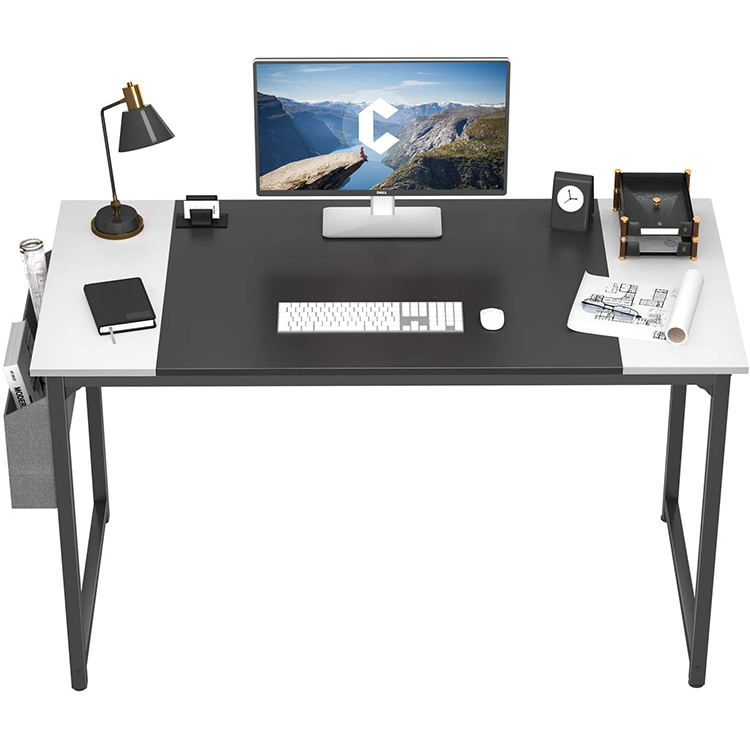 High End Luxury Industrial Wood Efficiently Store 55 Inch Computer Desk Modern Wood Executive