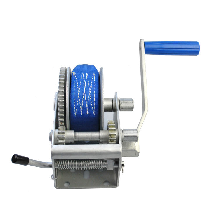 Reversible Ratchet 2000lbs manual hand winch/boat hand winch
