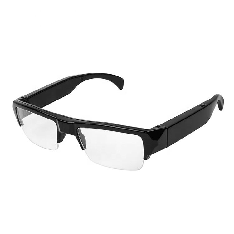 stereo hd pinhole 1080p high definition hidden spy camera eye glasses