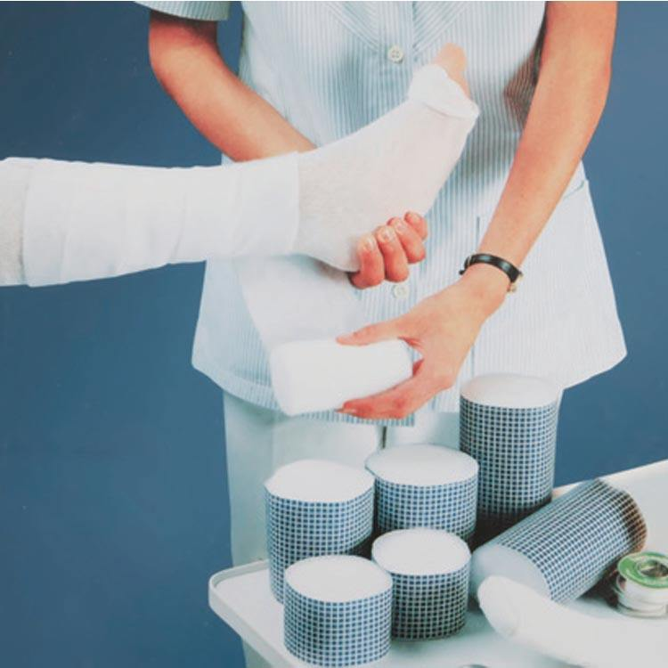 Gauze and Gypsum Powder Medical Plaster of Paris Bandage Rolls for Fracture Fixation, Deformity Correction and Limb Fixation