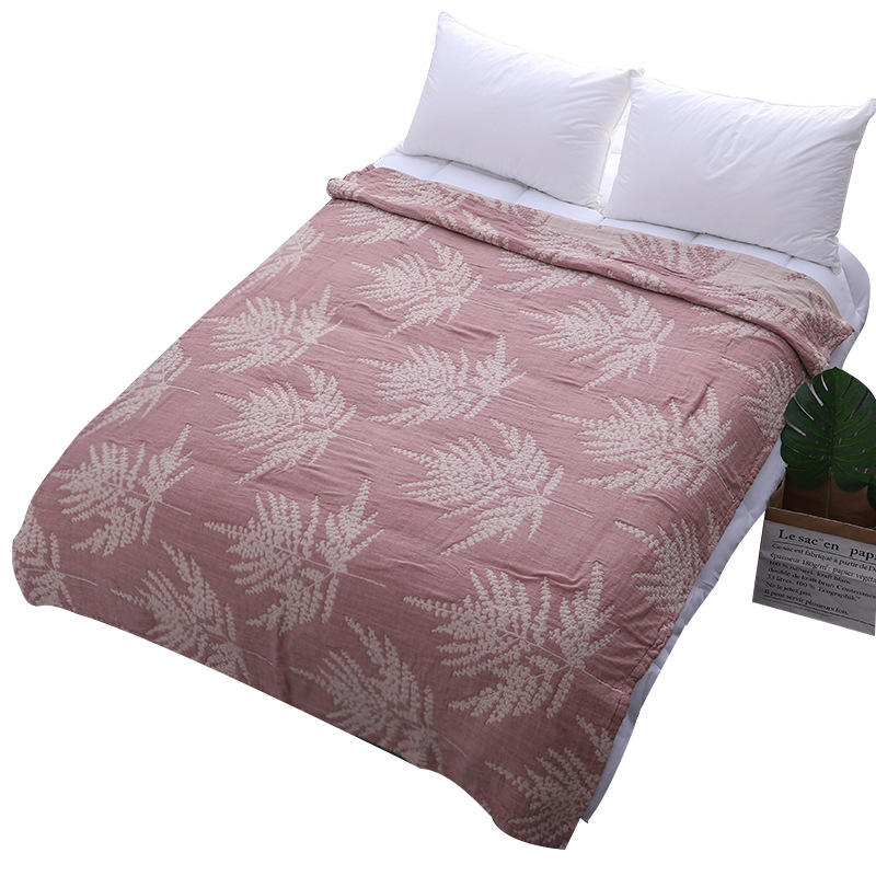 New summer thin quilt single gauze air conditioner duvet washed easily