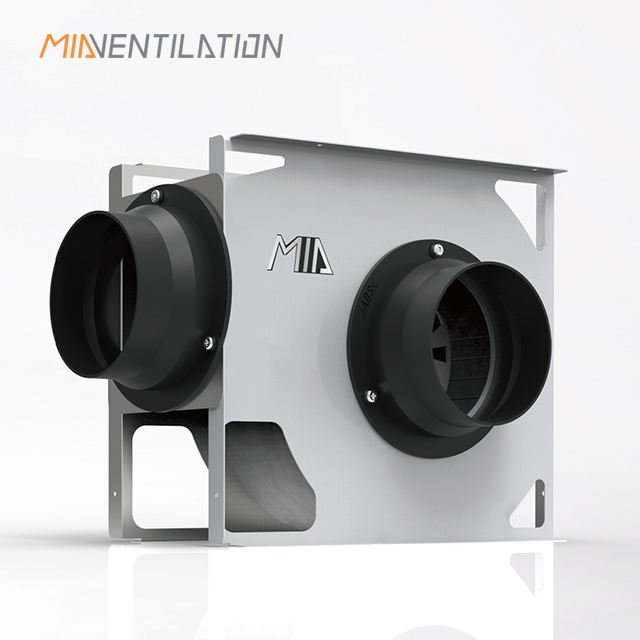 150mm Duct Fan 6 inch Centrifugal tube extractor fan-Silent-duct mounting 300m3/hr model: MIA-300SFJ/MINI