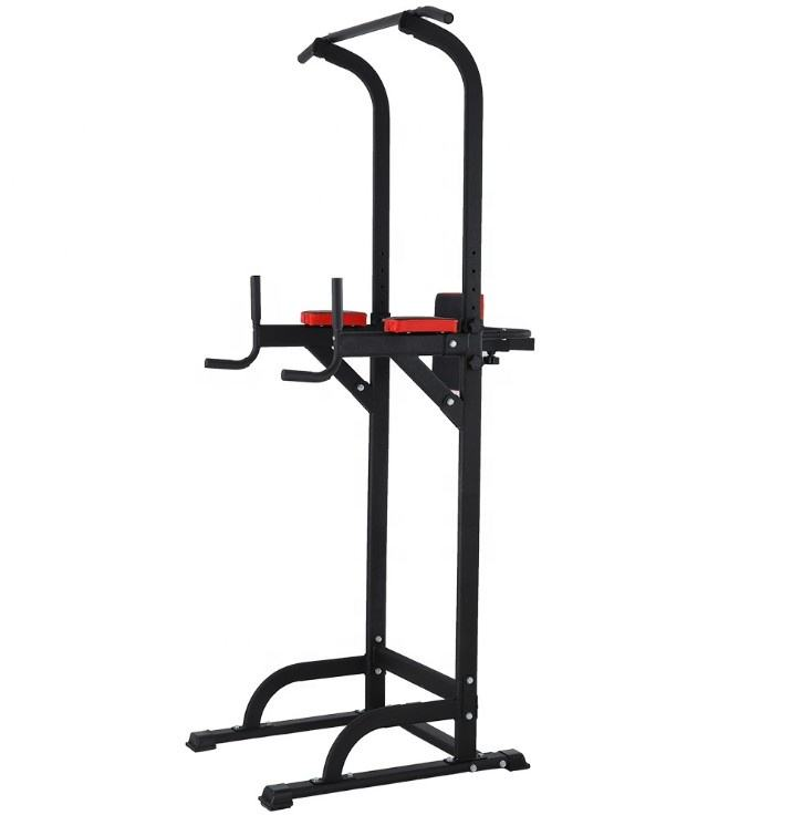 Koning Sport Mmulti-<span class=keywords><strong>Functionele</strong></span> Chin Up Bar Dip Station Power Tower Stand Vrijstaande Apparatuur Thuis Krachttraining