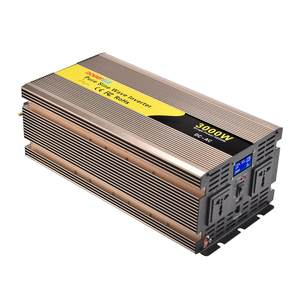3000 W/3kw 3000 WATT 12V/24V/48V DC para AC 110V/120V/220V/230V Pure Sine Wave Power Inverter Solar