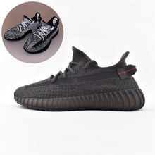 Original Yeezy 350 V2 Running Shoes Casual Sport Shoes Sneakers Running Putian Shoes Original Logo Boxes Size US 4-13
