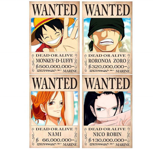 A0 A1 A2 Poster Anime One Piece Poster For Advertising Promotion