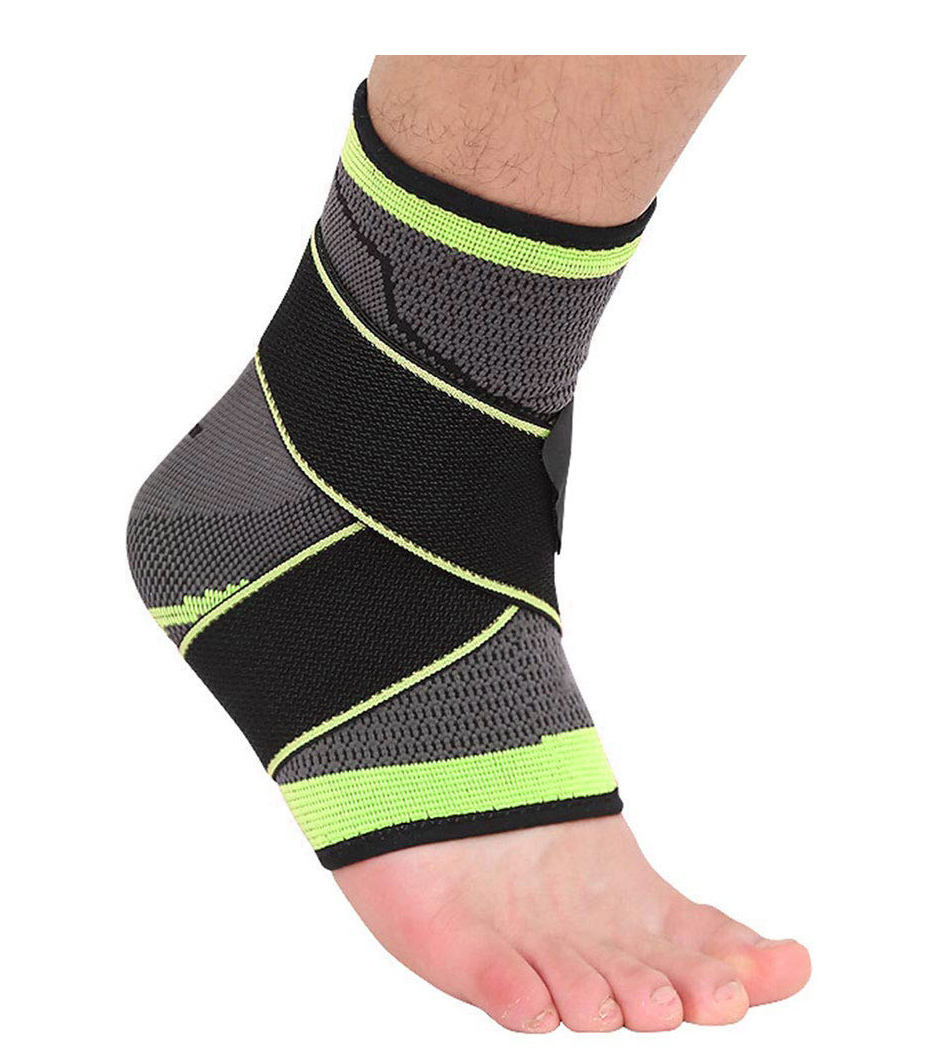 Factory Price Light Weight Double Pressure Sports Support Elastic Neoprene Orthopedic Ankle Brace