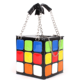 New Listing Casual Style Women Totes Handbags with chain Colorful Magic Cube Small Bag
