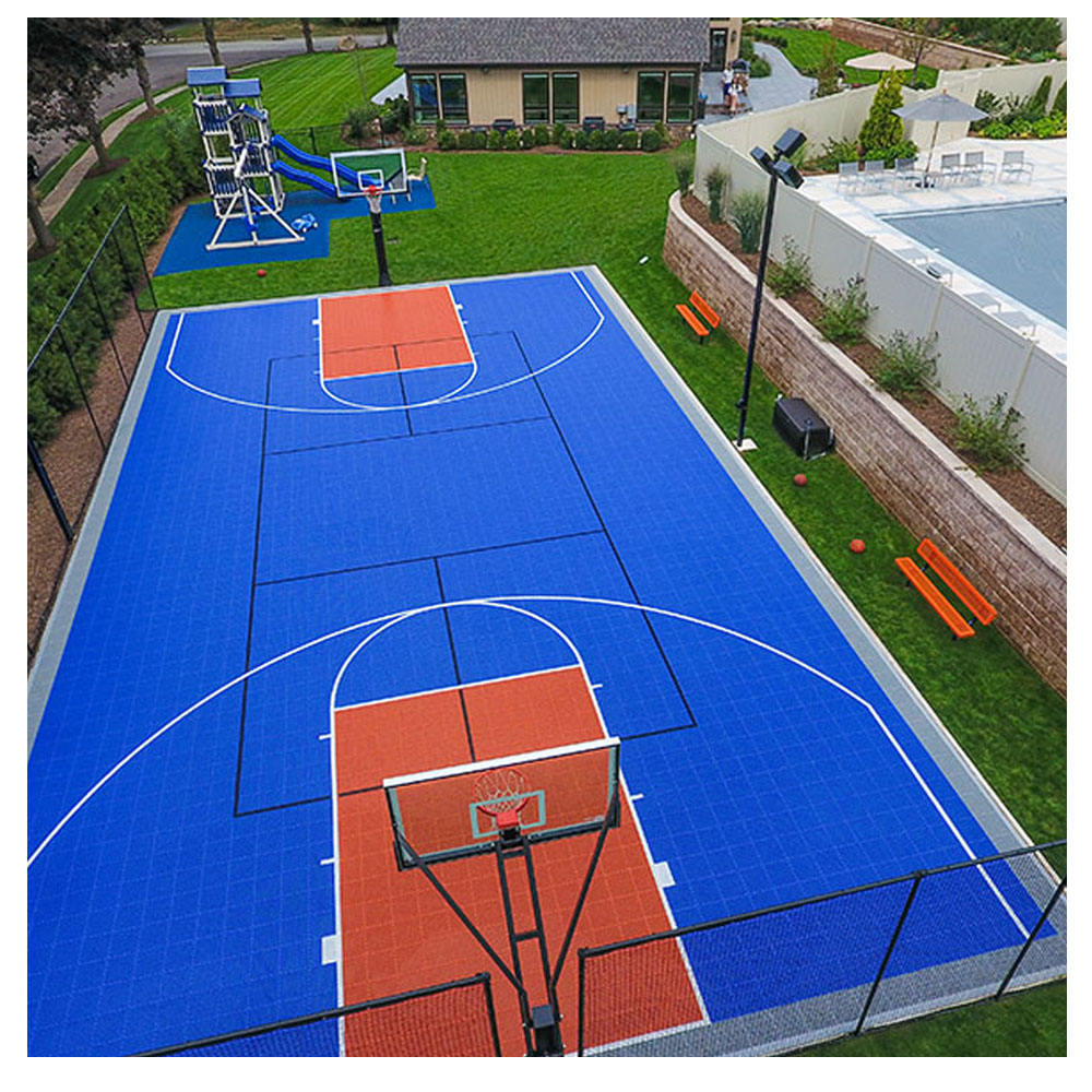 TOP quality Direct factory 2020 Intelligent PP interlocking portable basketball sport flooring tiles