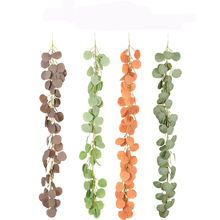 Most popular Wreath Handmade Artificial Eucalyptus Garland For home decoration