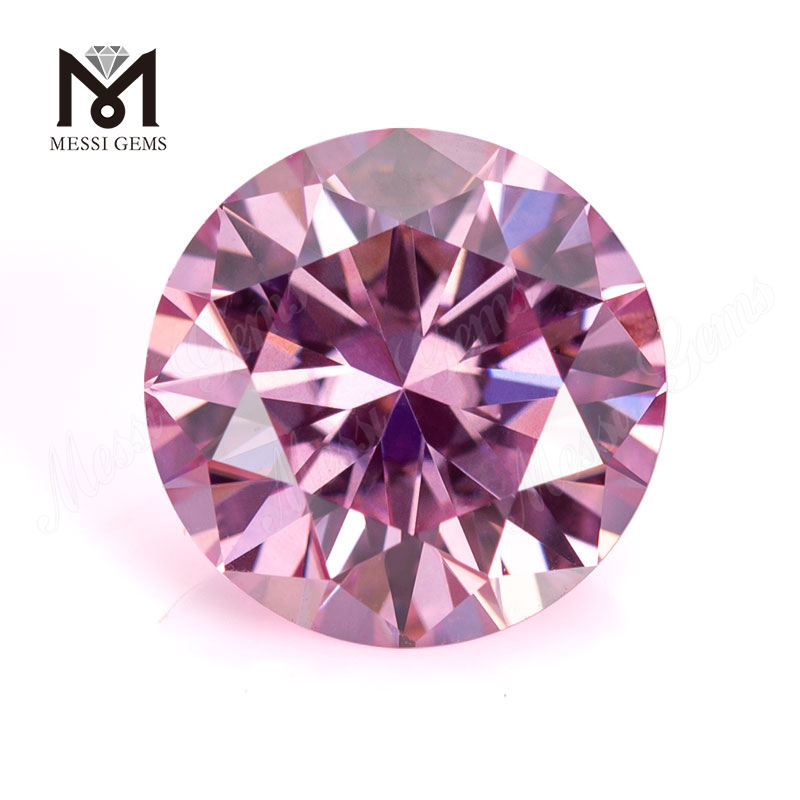 Messi Jewelry Pink Moissanite Diamond Wholesale Price Loose Gemstone Loose Pink Moissanite