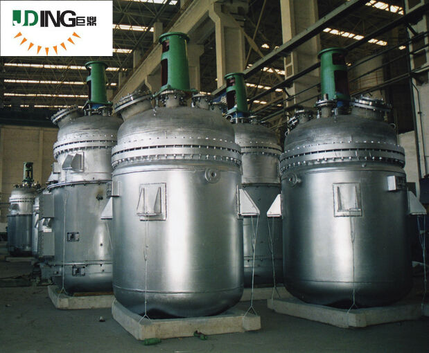 JUD series Chemicals Processing Application Jacket heating reactor,Chemical mixing reactors,Pharmaceutical reactor