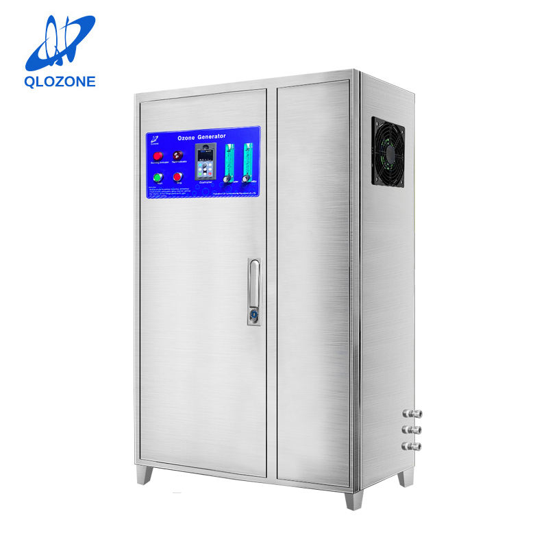 QILI 100G/H oxygen source industrial water treatment parts price water ozone generator