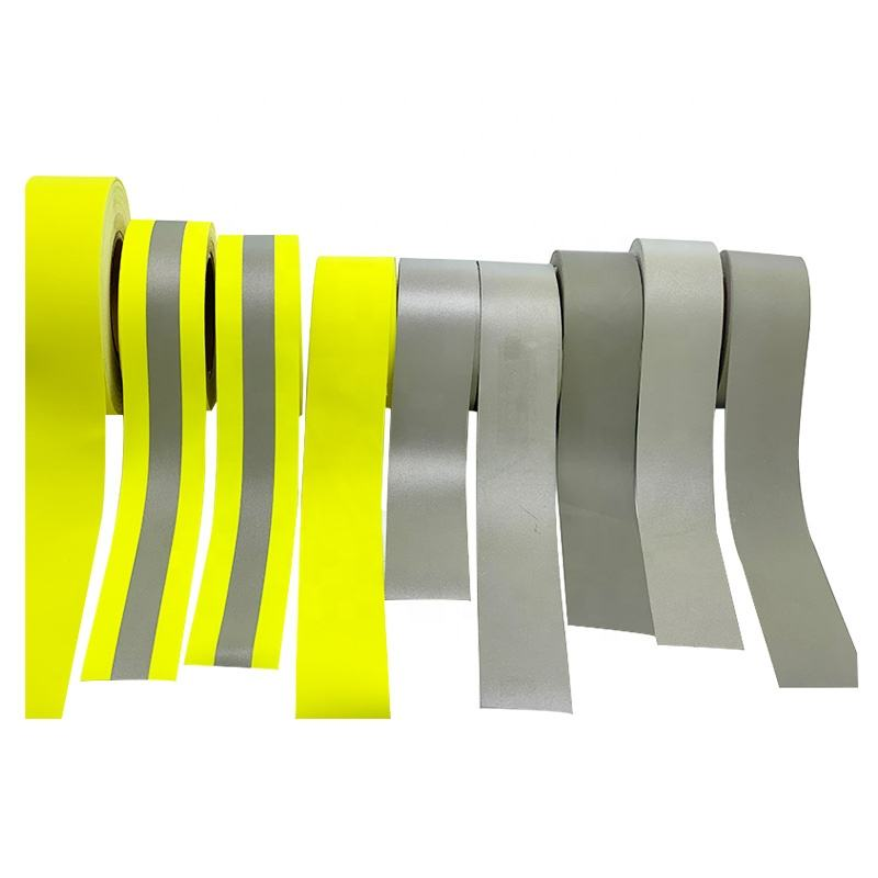 High Visible Fire Proof Workwear Flame Retardant Retro Reflective Fabric Tape Backing Cotton