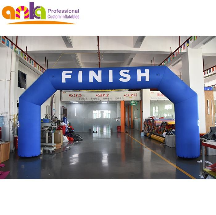 Cheap Price inflatable finish line arch for event entrance