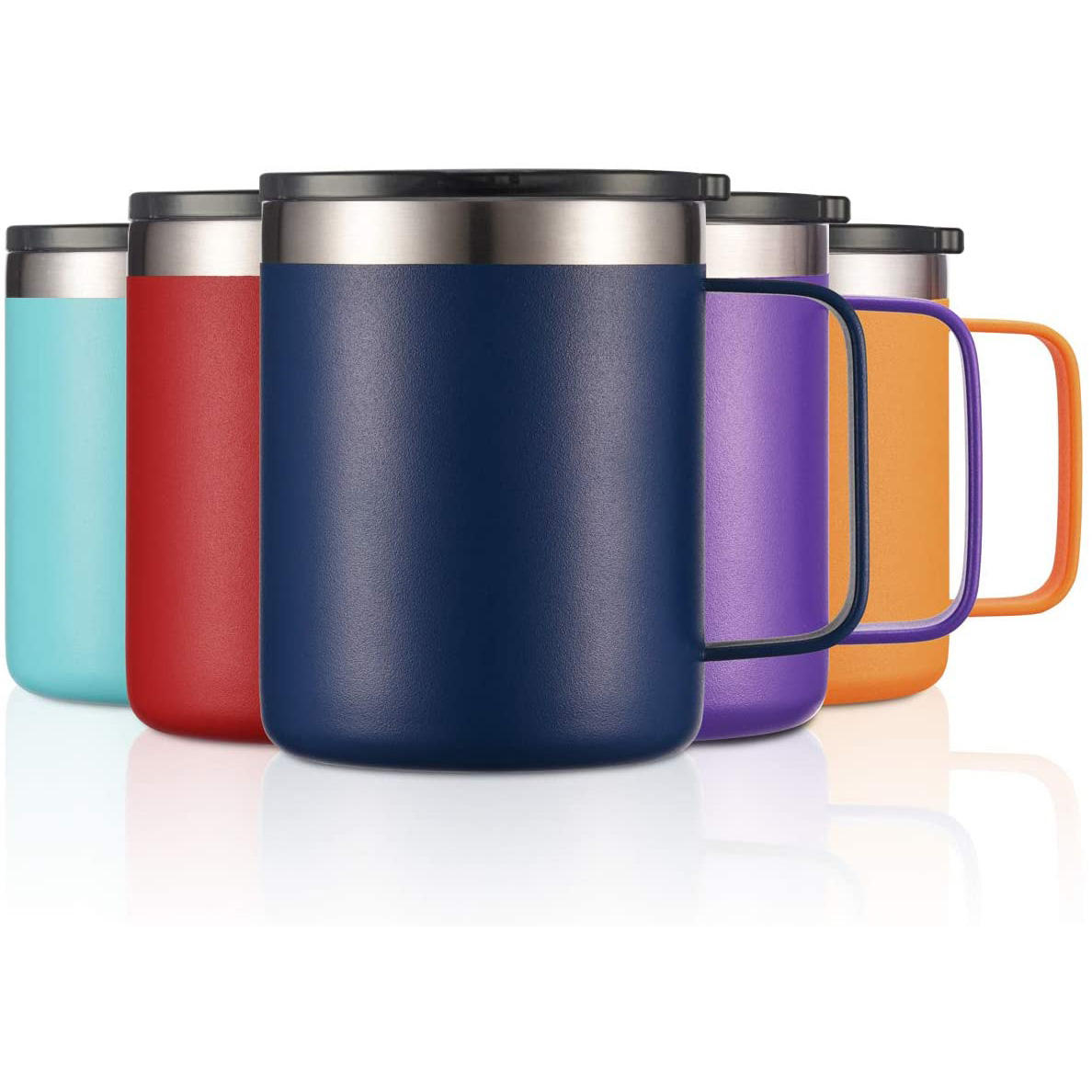 Personalized Stainless Steel Wholesale Fancy Thermal Cup Eco Insulated Double Wall Sublimation Custom Coffee Travel Mug with Lid