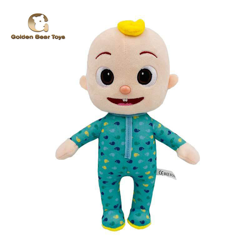 Hot Sale Cocomelon JJ Little Boy Plush Toys Children Toys Animated Cartoon Kids Toys