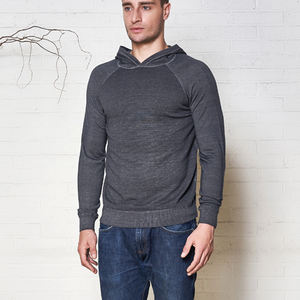 2021 Male Custom Casual Thin Slim Cold Dye Knitwear Tops Men Merino Wool Pullover Sweater Man With Hooded