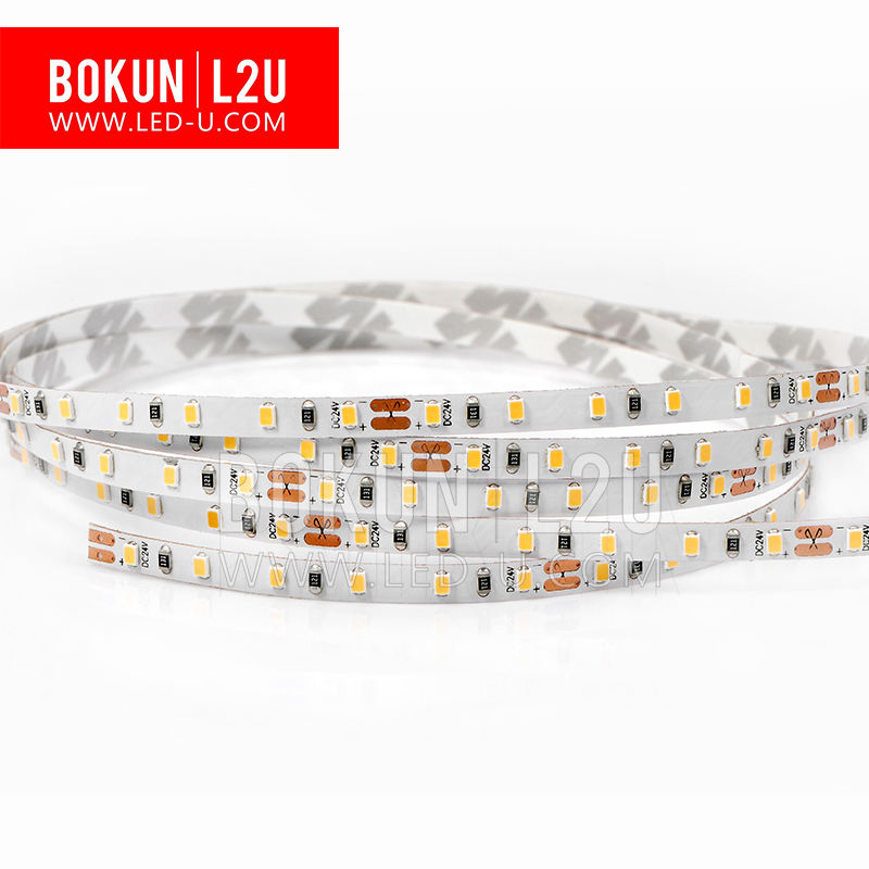 BOKUN L2U Cri 95 High Cri 12v 24v 60 Led Per Meter 2216 Led Strip