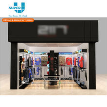 Professional Sport Shop Interior Design Retail Display Shop Equipment for Sports Store
