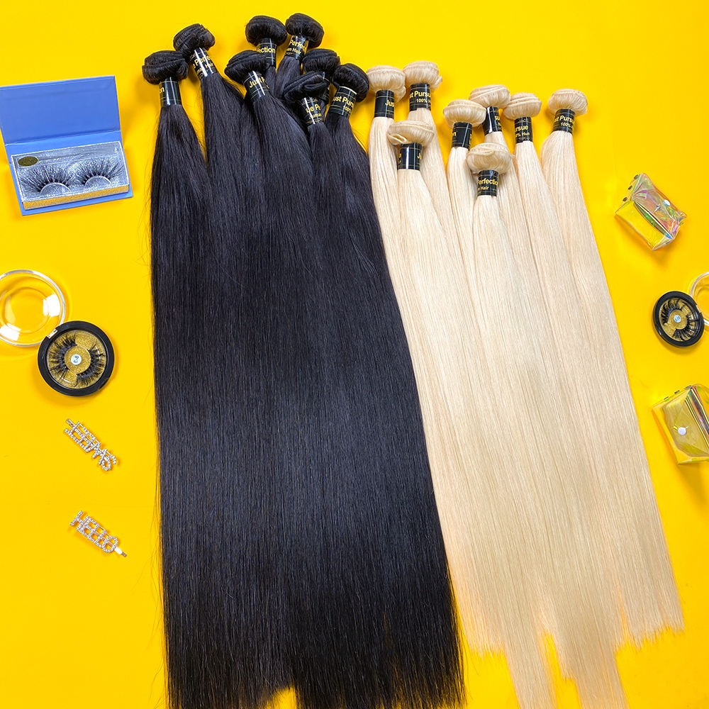 JP human hair extension for black women hight quality straight American