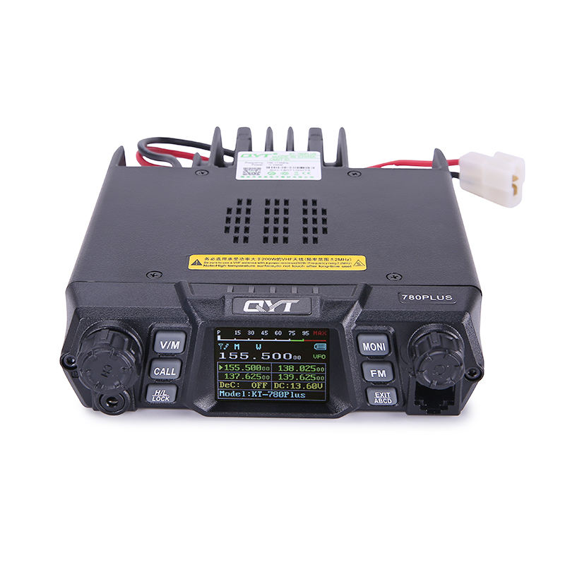 100W VHF single band quad standby color screen QYT KT-780Plus radio