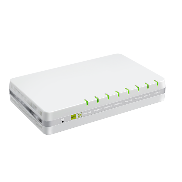FlyingvoiceG508 <span class=keywords><strong>FXS</strong></span> Port Ponsel, Adaptor Berat Telepon Ethernet <span class=keywords><strong>8</strong></span> <span class=keywords><strong>FXS</strong></span> Port VoIP T.38 dan T.30 FAX TR069 SNMP 10/100/1000Mbps