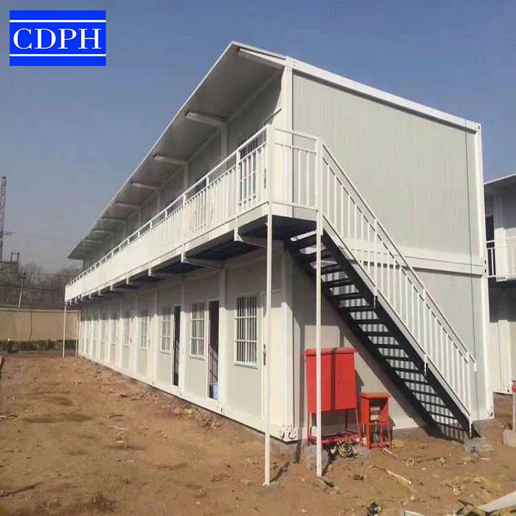 Portable Newest Folding Flat Pack Expandable Container House, Prefabricated China container casas used as refugee camp house