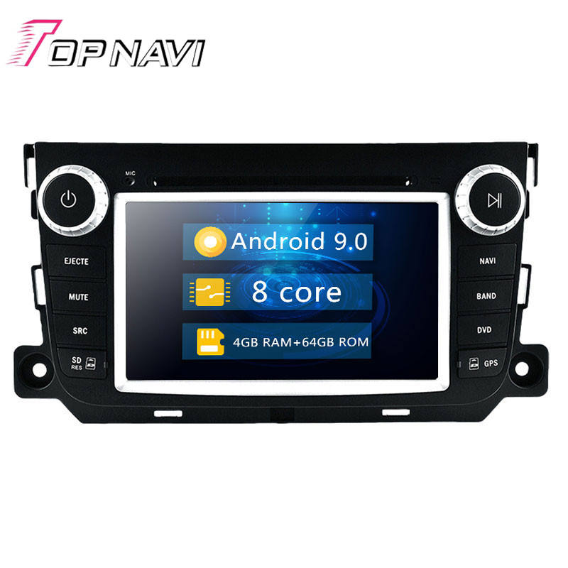 Android 2 Din Autos DVD Player 7 Zoll Touch Screen GPS Map-System Für Benz Smart Fortwo 2012 Navig gps Mit können Bus WIFI