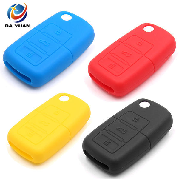 Remote Flip Key Shell Fob Case Cover 3 Buttons Fit For Fiat 500 Panda White Micro Trader
