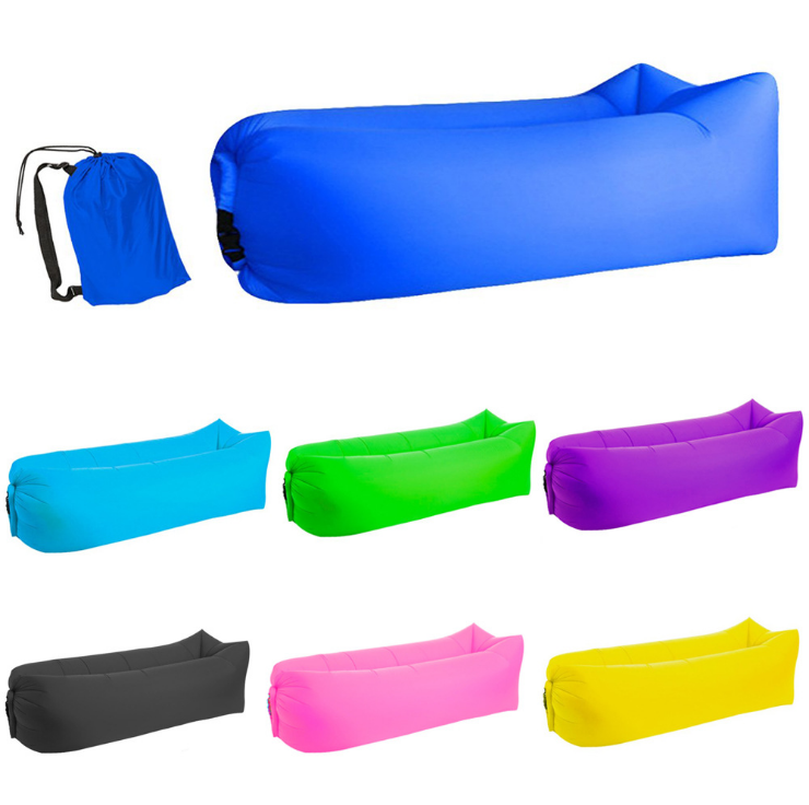Fast Folding Lounger Inflatable Air Sofa Lazy bag Relax Air Sofa bed beach lazy bag lounger sofa