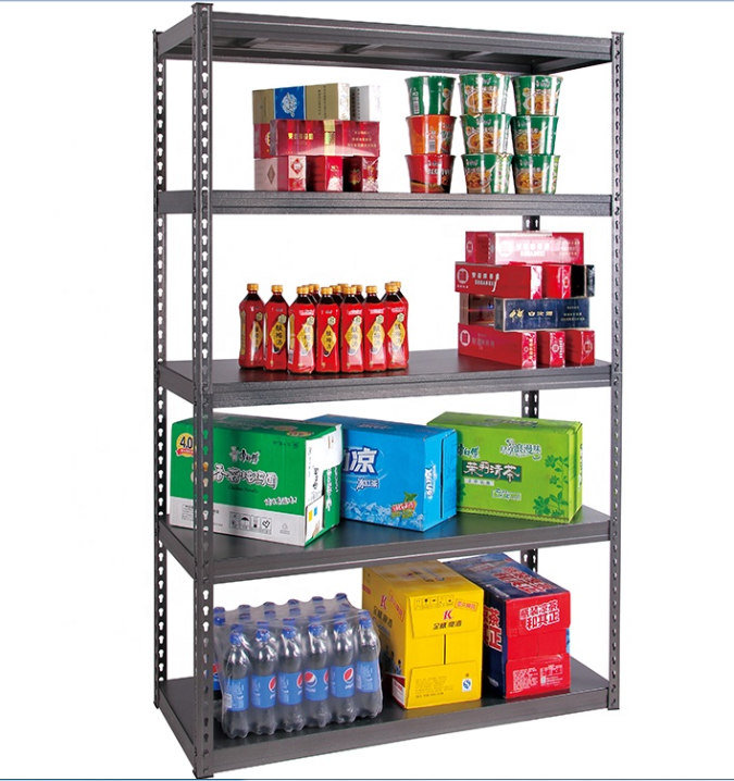 Rust Protection Steel Stacking Racks Metal Shelves Warehouse Storage Shelving Rack System