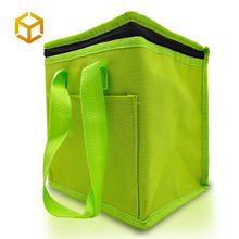 Free Sample Custom Logo Food Delivery  For Ice Cream Lunch Beer insulated cooler bag